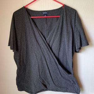 Criss-cross American Living Top